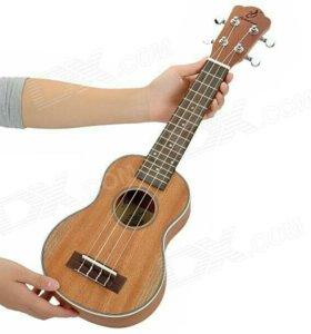 Уроки на укулеле