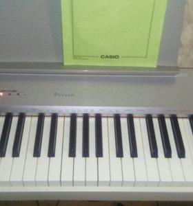 Продам цифровое пианино casio priviva px150 we