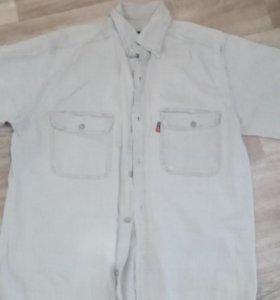 Рубашка лен 46-48 разм