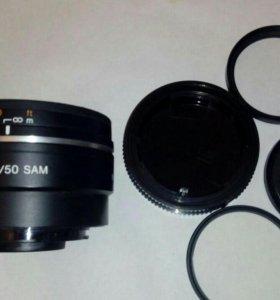 Объектив Sony DT 1.8/50 SAM