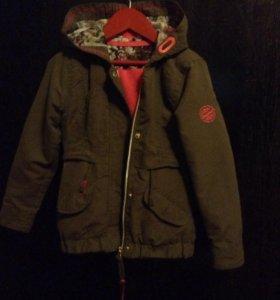 Куртка ветровка детская для девочки
