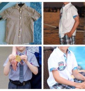 Рубашки (2 шт) на мальчика