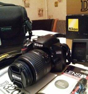 Nikon D3200 18-55 II Kit.