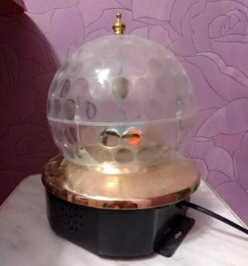 Диско шар с МР3 плеером