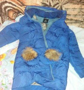 2 зимних пуховика и зимняя куртка