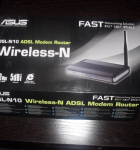 Продаю модем WIFI ASUS DSL-N10. .