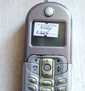 Телефон Моторола С205