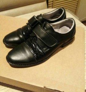 Туфли к школе на мальчика