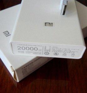 Портативное з.у. Xiaomi Power Bank на 20000 mAh