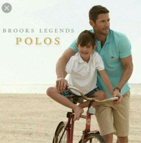 Поло Brooks Brothers, USA, М, размер 48-50