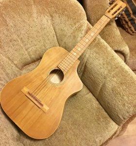 Гитара 6ти струнная Вышневолоцкой фабрики