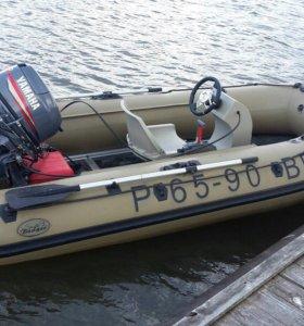 Лодка Баджер 370 с мотором Ямаха 30