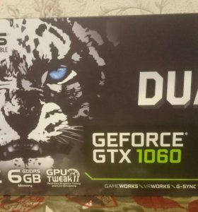 Видеокарта Asus GeForce GTX1060