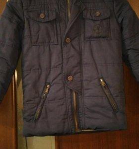 Фирмовая зимняя куртка