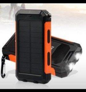 Повер банк на солнечных батареях