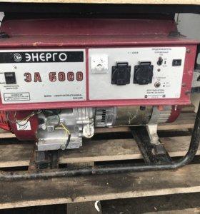 Бензиновый генератор 6 кВ