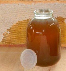 Мед гречишный,разнотравье, майский,подсолнечный