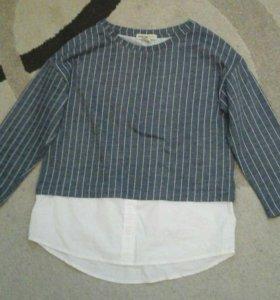 Кофта+ рубашка
