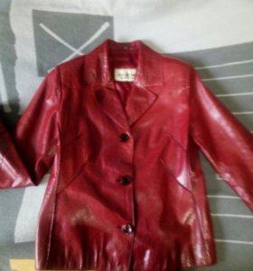 Куртка пиджак ко́жа
