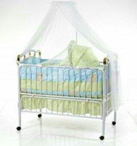 Кровать детская (Металлическая) Geoby