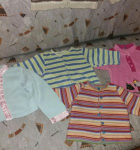 Модные приятные к телу кофты до 3 лет