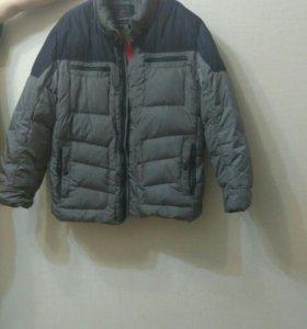 Зимняя мужская куртка - пуховик