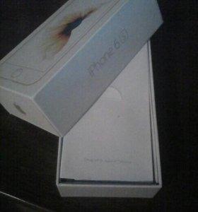 Коробка, от айфона 6s, наушники, и т.д