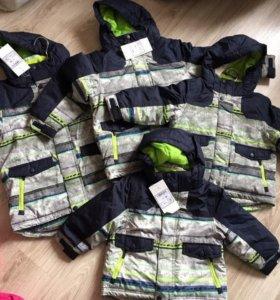 Куртка зимняя разные размеры