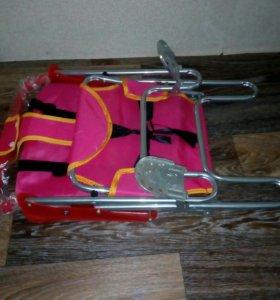 Кресло на багажник велосипеда