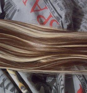 Волосы на заколках🎀