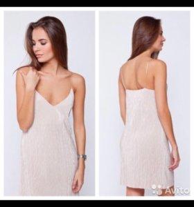 Платье новое из плиссировки 💙