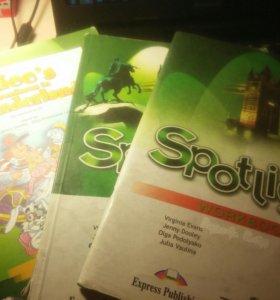 Spotlight student's book, workbook, a reader 6