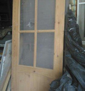 Двери цельнодеревянные филенчатые