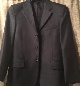Пиджак школьный 152см для мальчика