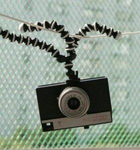 Штатив для смартфона + гоупро + фотоаппар