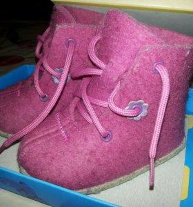 ботинки детские(зимние )