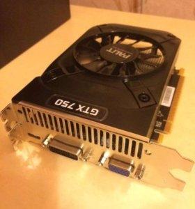 Видеокарта Nvidia GTX 750 2gb