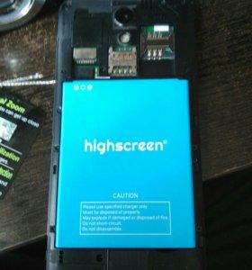 Телефон highscreen