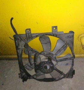 Вентилятор радиатора кондиционера Mazda Capella