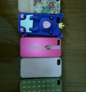 Чехлы на iPhone 5, 5S, SE