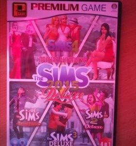 Диск Sims (1,2,3,4)