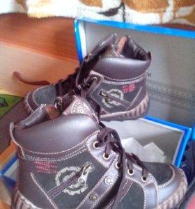 Зимние ботинки Антилопа НОВЫЕ