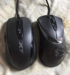 2 игровые мышки x7