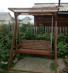 Качеля садовая.