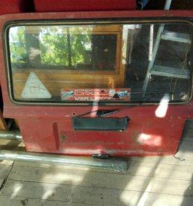 Дверь багажника на ВАЗ 2104