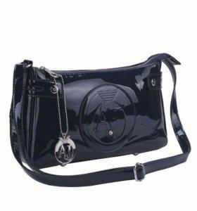 Черная сумка armani