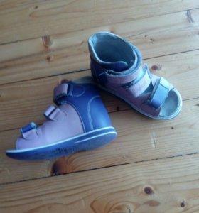 Обувь детская ортопедическа б/у состояние хорошее