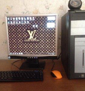 Компьютер (монитор+системный блок)