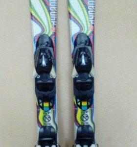 Горные лыжи детские.