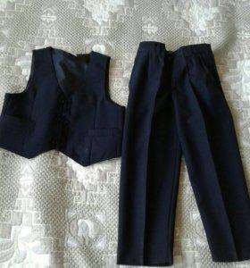 Костюм брюки и жилетка